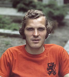 Willy van de Kerkhof in 1975
