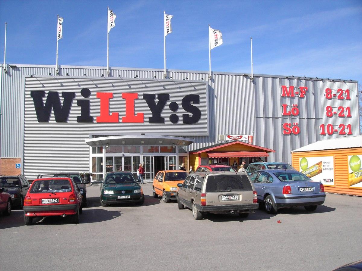 willys rissne öppettider