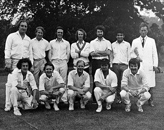Wilmington Grammar School for Boys - Staff cricket team 1972