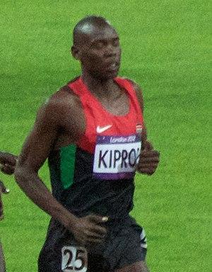 Wilson Kiprop - Kiprop at the 2012 Olympics