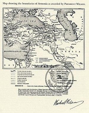 Wilsonian Armenia - Image: Wilsonian