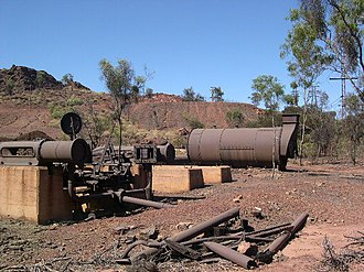 Mount Isa Mine Early Infrastructure - Lawlor Shaft and Winding Plant, 2003