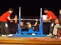 Winning lift at the USAPL Nationals 9-12-09 175 k(385 lbs) lift in the Masters II 81.5 kilo weight class.JPG