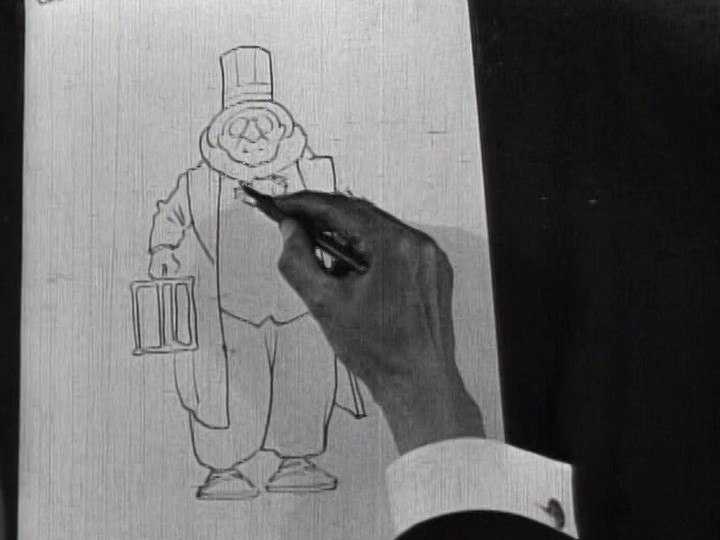 Winsor McCay - Little Nemo film still - drawing
