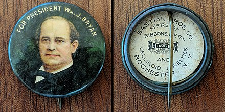 Presidential Campaign button for Bryan Wm j bryan campaign button.jpg