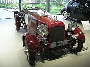 Alvis Car and Engineering Company - 1928 12/75 Front Wheel Drive open two-seater T.T. replica