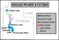 Wood River (Oregon), drainage basin map.png