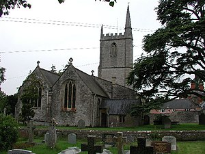 Wookey - Image: Wookey church