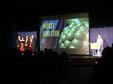 Plej malbona direktoro ĉe 29-a Razzie Awards.jpg