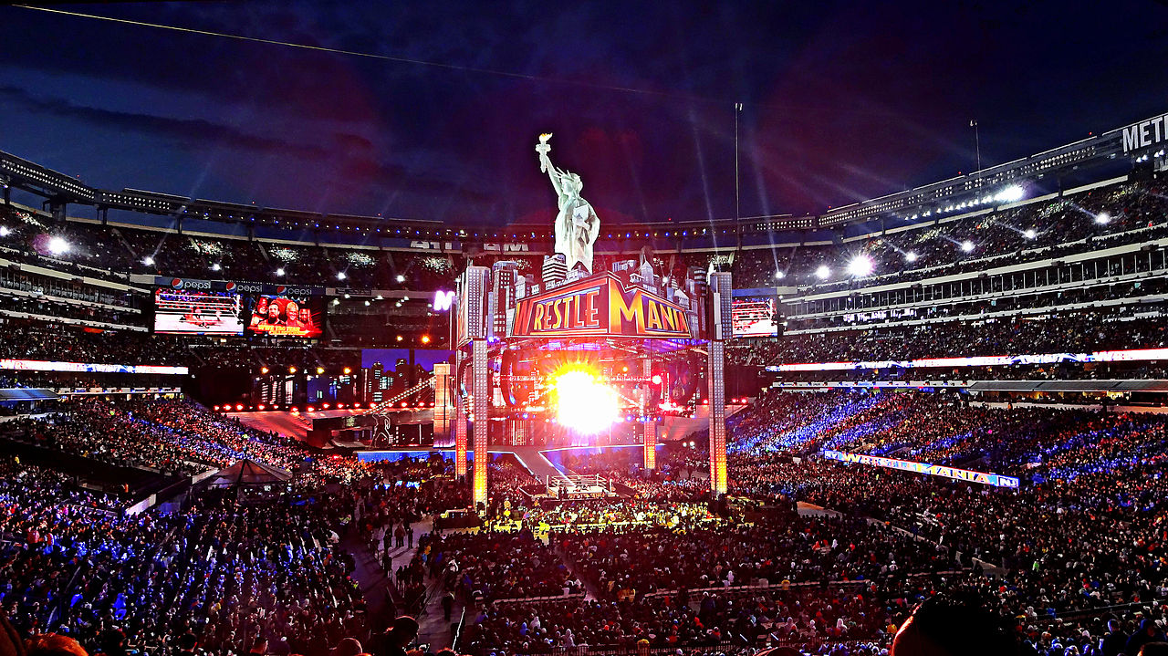 File Wrestlemania 29 Stage Jpg Wikimedia Commons
