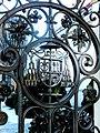 Wrocław, Ostrów Tumski, Pałac Arcybiskupi - fragment bramy.jpg