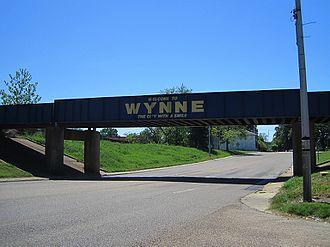 Wynne, Arkansas - Image: Wynne AR 2012 04 07 012