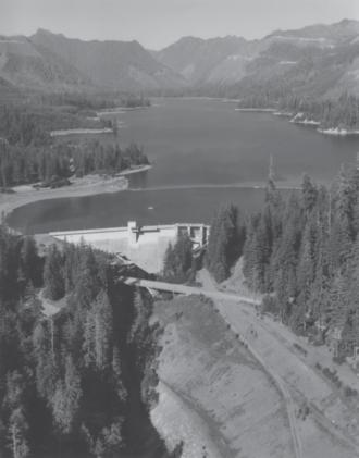 Wynoochee Dam - Wynoochee Dam and reservoir