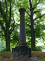 Wzgórze Napoleona, pruska kolumna żeliwna.JPG