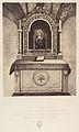 XIIIe Station. Jésus est remis entre les mains de sa mère. Cet autel est construit sur le rocher où se tenait la vierge marie pendant le crucifiement de son fils. MET DP345546.jpg