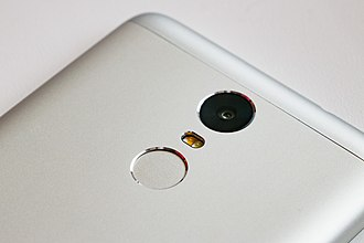Electronic fingerprint recognition - Many smartphones have fingerprint scanners as a way of unlocking the screen.