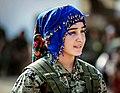 YPJ soldier wearing a blue scarf.jpg