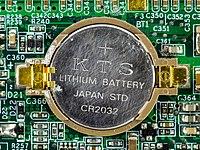 Yakumo Notebook 536S - CR2032 backup battery on motherboard-4667.jpg