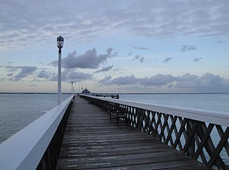 Yarmouth Pier - Image: Yarmouth Pier in October 2011