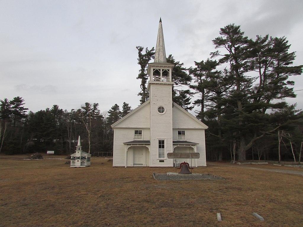 Ye Olde Meeting House, Lamoine Maine image 1