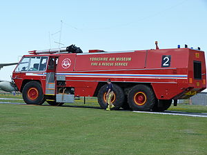 Chubb Fire - Chubb Fire Pathfinder airport crash tender of the 1970s