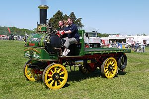 Yorkshire Patent Steam Wagon Co. - Denby Maiden