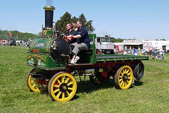 Yorkshire Patent Steam Wagon Co. - Denby Maiden