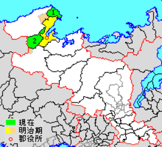 Yosa District, Kyoto - Location of Yoza in Kyoto prefecture