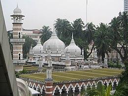 Masjid Jamek Kuala Lumpur Wikipedia Bahasa Melayu Ensiklopedia Bebas
