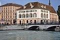 Zürich - Limmatquai - Helmhaus-Wasserkirche - Münsterbrücke - Wühre 2010-06-19 20-35-26 ShiftN.jpg