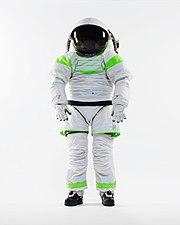 Z-1 Spacesuit Prototype - standing Nov 2012