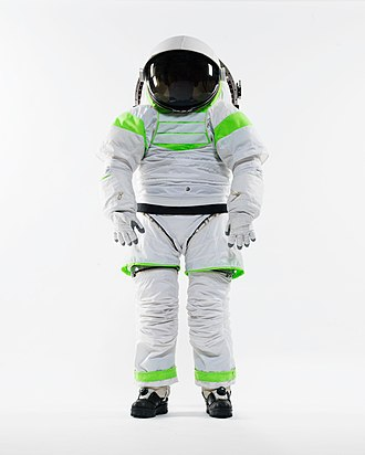 Z series space suits - The Z-1 is the first Z prototype suit constructed