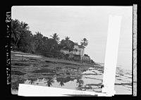 Zanzibar. A seaside palace of the Sultan. View along sea front LOC matpc.17672.jpg