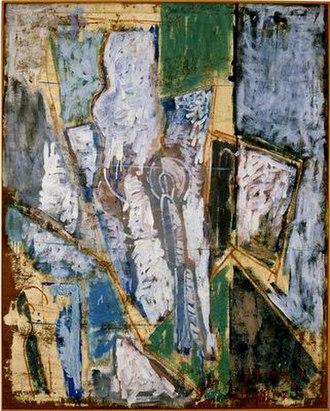 Ofakim Hadashim - Joseph Zaritsky Naan, The Painter and the Model, 1949 Israel Museum, Jerusalem