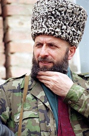 Zelimkhan Yandarbiyev - Image: Zelimkhan Yandarbiyev in 2000