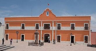 Zempoala, Hidalgo - Image: Zempoala Municipal Building