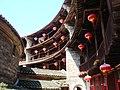 Zhenchen Lou inside, Yongding County, China.JPG