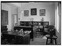 Zionist activities in Palestine. The Hebrew University Library. The Wolfsohn Room. LOC matpc.02656.jpg