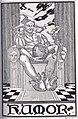 """HUMOR"" art from Kipikawi Yearbook 1915 from Racine High School, Racine, Wisconsin, USA (page 62 crop).jpg"