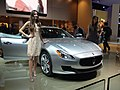 """ 13 Maserati Quattroporte - Italian luxury sedan at Detroit.jpg"