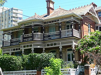 Woollahra, New South Wales - Image: (1)Federation Home Woollahra Sydney