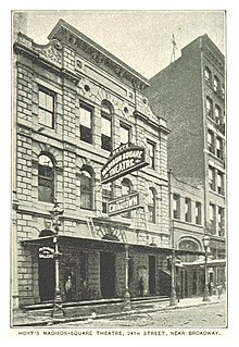 (King1893NYC) pg603 HOYT'S MADISON-SQUARE THEATRE, 24th STREET, NEAR BROADWAY.jpg