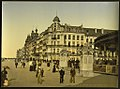 (The embankment and entrance to the Kursaal, (i.e., Cursaal), Ostend, Belgium) LOC 3887180752.jpg
