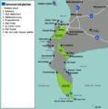 (de)Map-South Africa-Wester Cape-Cape Peninsula01.png