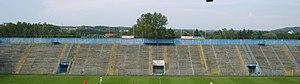 ZTE Arena - Image: Északi lelátó ZTE stadion