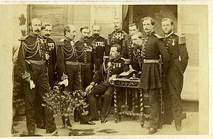 Gustave Olivier Lannes de Montebello - In Italy (1863)