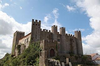 Castle of Óbidos Medieval Castle in Portugal