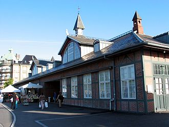 Heinrich Wenck - Østerport Station, 1897
