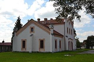 Čerenčany Village in Slovakia