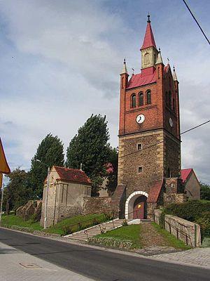 Łagiewniki, Lower Silesian Voivodeship